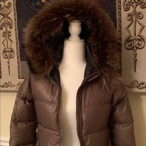 CLOSING PRICE Duvetica Goose Down W/Real Fox Fur
